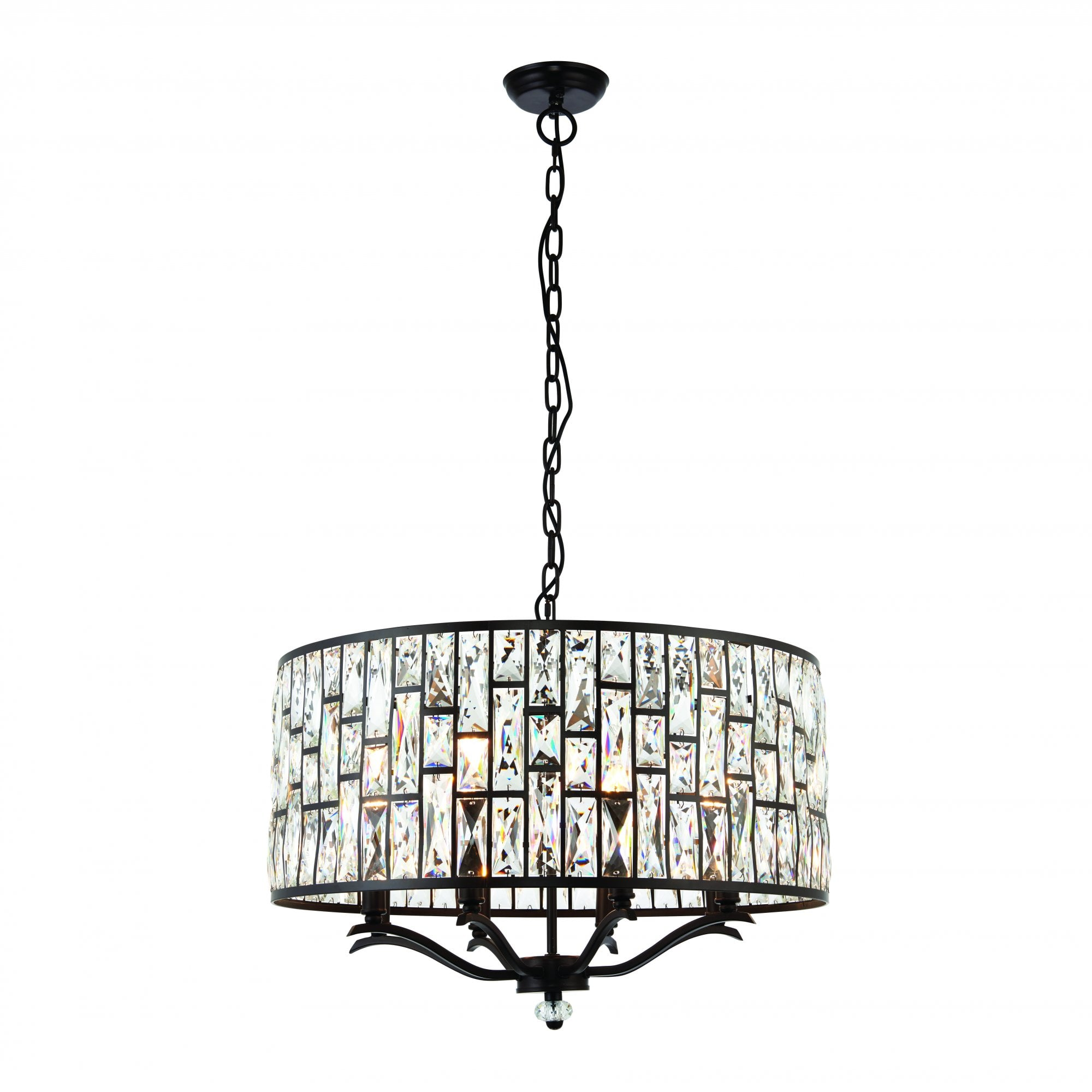 Basket Chandelier Metal Frame Skeleton Make Your Own