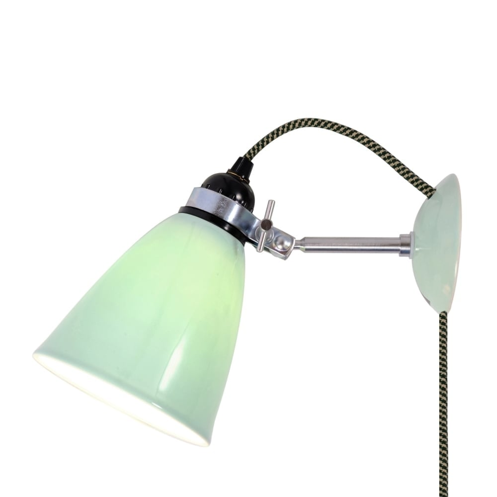 HECTOR Medium Dome Wall Light PSC Light Green