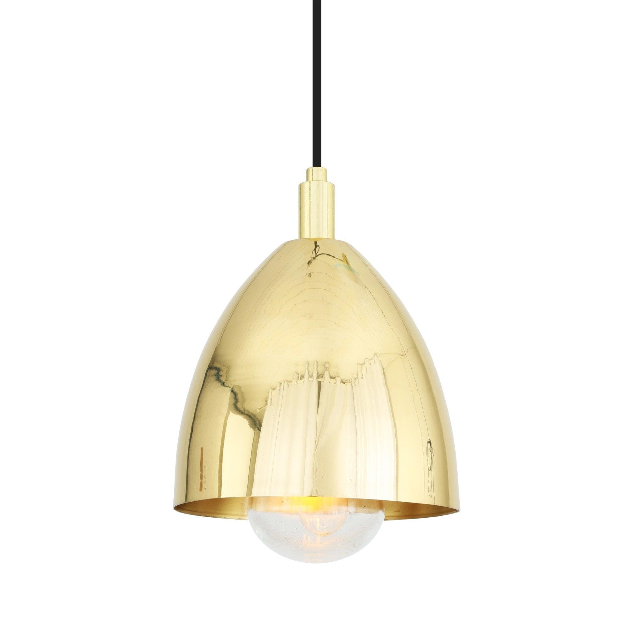 Jorah Polished Brass Bathroom Ceiling Pendant Designer Lighting Uk
