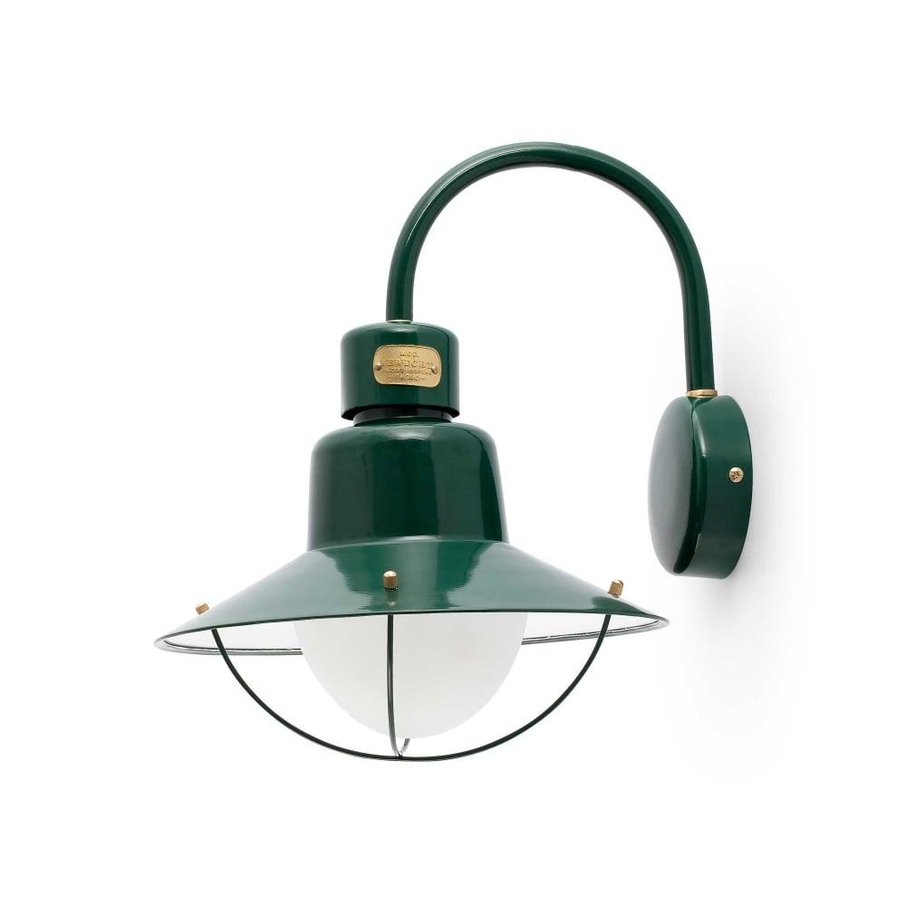 Newport green outdoor garden wall lamp designer lighting uk newport green wall lamp 1 x e27 60w aloadofball Gallery